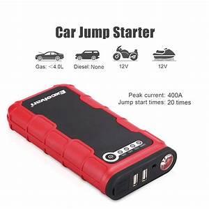 Auto Jmp : portable car jump starter battery charger booster power bank jumper pack 12000ma ebay ~ Gottalentnigeria.com Avis de Voitures
