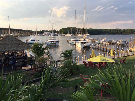 Boat Restaurant Marina South Pier by Chesapeake Bay Marina On South River Pier 7 Resort Marina