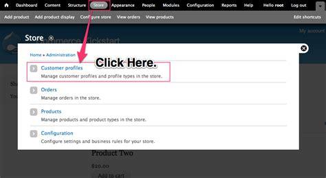 drupal commerce order message template configuring creating customer profiles drupal commerce
