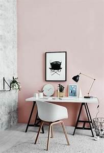 peinture chambre rose et gris kirafes With photo peinture salon 2 couleurs 4 nos astuces en photos pour peindre une piace en deux couleurs