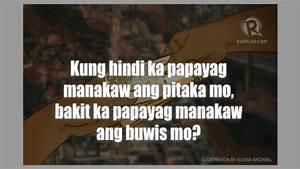 Sa usaping buwi... Anong Problema Mo Quotes