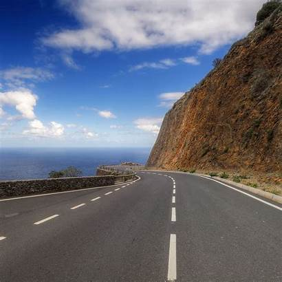 Mountain Road Streamer Hill Turn Mark Ipad