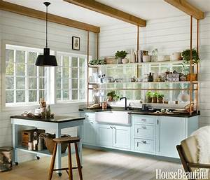 tiny kitchen designed by kim lewis With kitchen colors with white cabinets with kids world map wall art