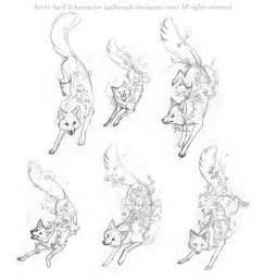 Fox Tattoo Designs Drawings