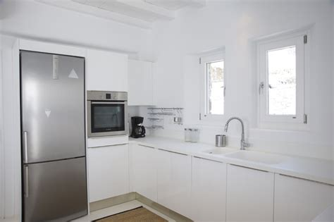 kitchen island marble all white kitchen