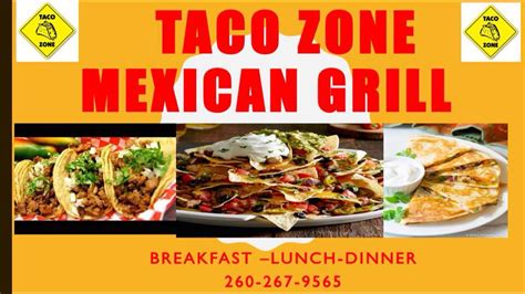 taco zone wayne posts restaurant menu indiana fort updated mexican