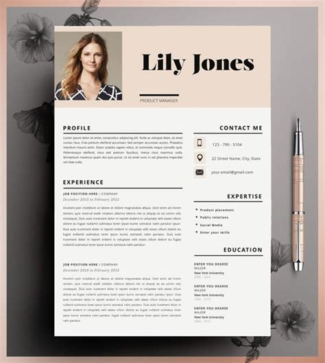 words resume templates and resume on