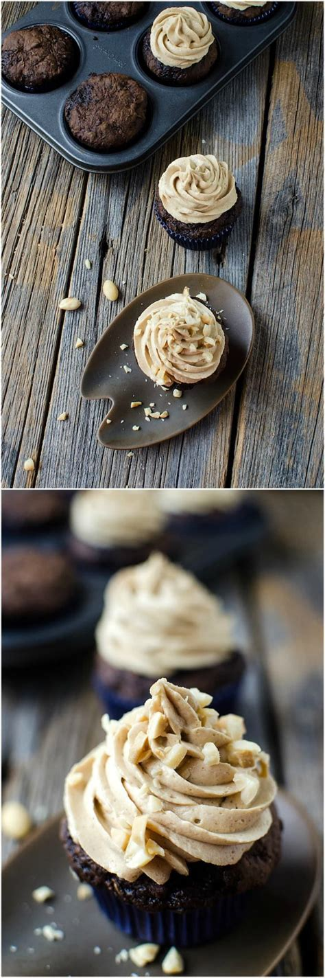 chocolate zucchini cupcakes with peanut butter frosting 24467 best diy creative ideas images on pinterest peanut blossoms party printables