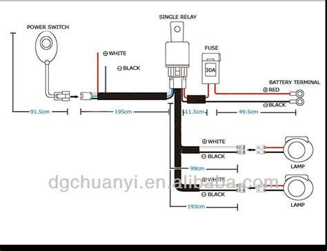 Car Light Wiring Harness Diagram
