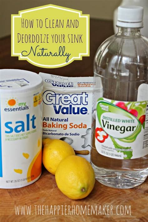 how to clean kitchen sink with baking soda cleaning sink with baking soda and lemon sinks ideas 9715