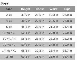 Ralph Children Size Chart Dr E Horn Gmbh Dr
