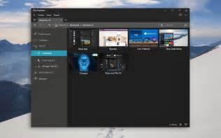 Windows File Explorer 10 Dark Theme