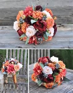 Fall Wedding Flowers Bridal Bouquet