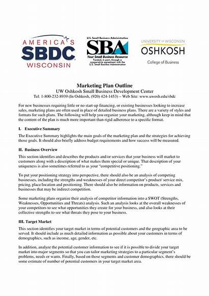 Marketing Plan Strategic Business Strategy Template Example