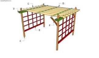 Garden Pergola Building Plans