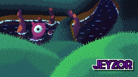 water monster pixel art wallpaper  jeyzor  newgrounds