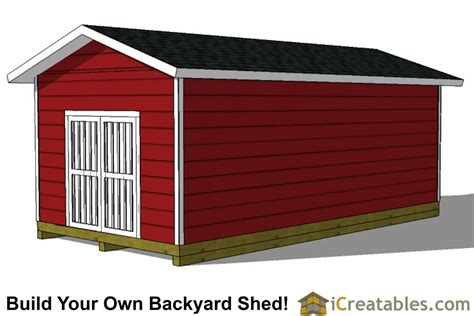 12x24 storage shed plans 12x24 backyard large shed plans icreatables