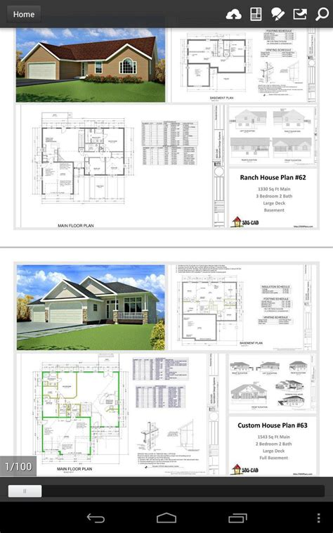 house plans    cad  android