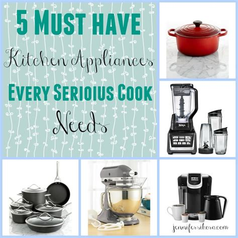 5 Must Have Items For Any Kitchen  Jen Around The World