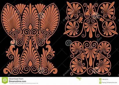 Greek Patterns Pattern Intricate Vector Ancient Illustration