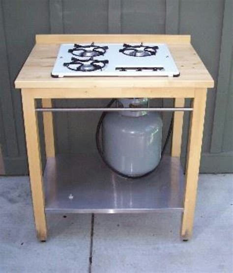 outdoor stove ikea table and propane stove top handy for