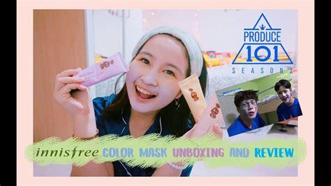 Harga Masker Innisfree Wanna One indo maskeran ala wanna one innisfree color mask part