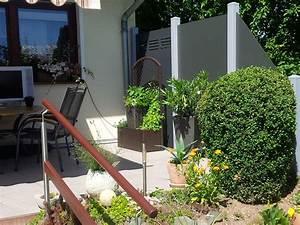 Terrassenmöbel Für Kleine Terrassen : sichtschutz f r terrasse hier ab werk kaufen ~ Markanthonyermac.com Haus und Dekorationen