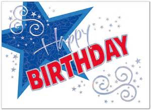 Patriotic Happy Birthday Card