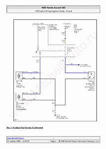 Honda Accord Sei 1985 Wiring Diagrams Sch Service Manual