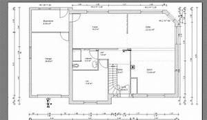 maison neuve plan maison francois fabie With plan de maison neuve