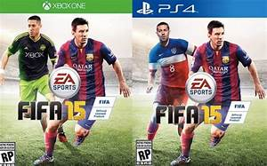 FIFA 15 PS4 Vs Xbox One Cover Differences Product