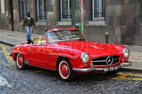 Vintage Convertible Cars by Convertible Car Mercedes 190 Sl Cabriolet Vintage