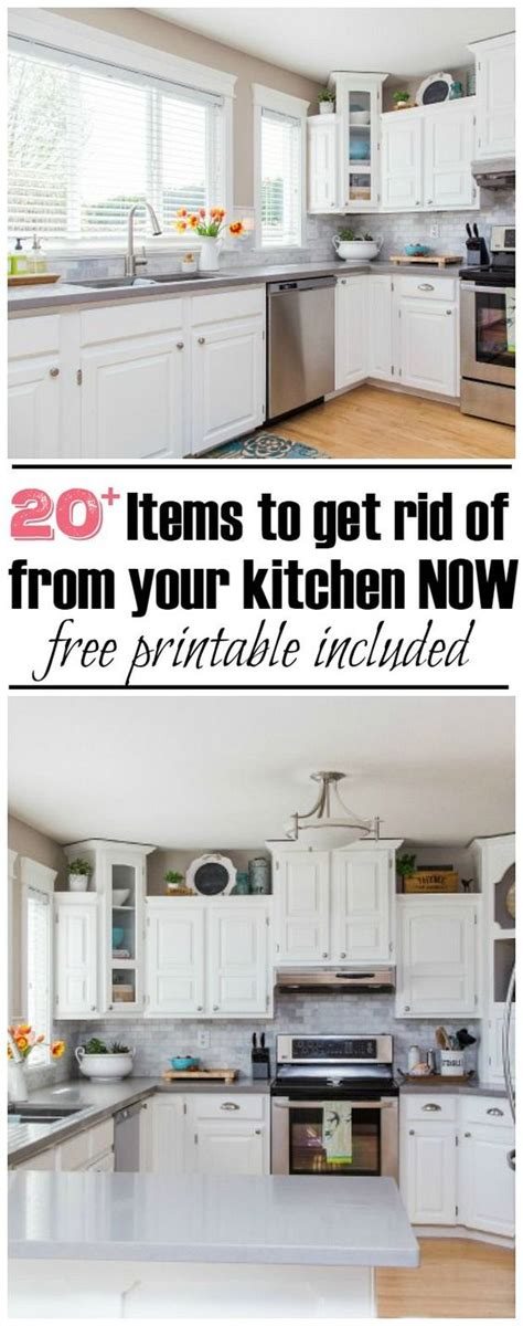 kitchen cabinets ideas photos declutter things to and challenges on 6111