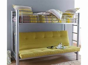 Lit 120x190 Alinea : 60 lits mezzanine pour gagner de la place elle d coration ~ Voncanada.com Idées de Décoration