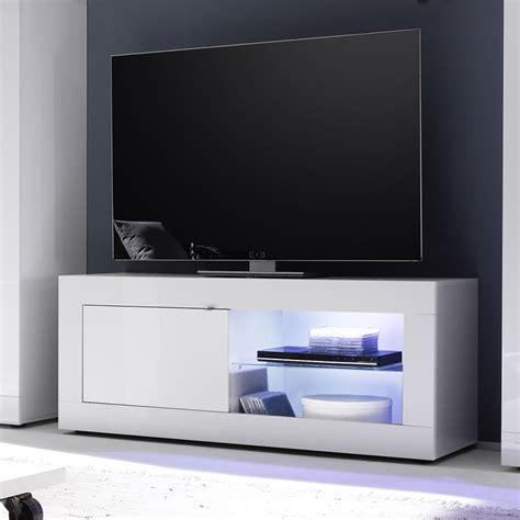 chaise haute industriel meuble tv lumineux blanc laqu design felino