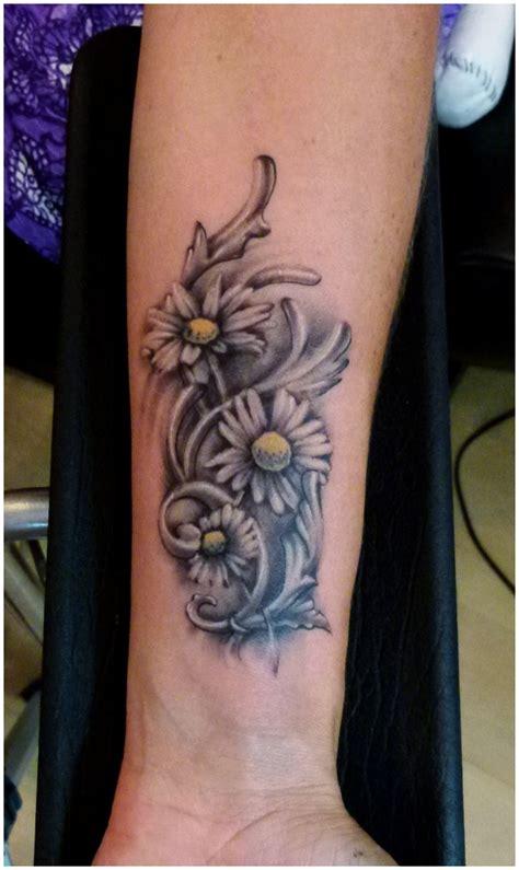 daisy flowers tattoo designs   arm tattooshuntcom