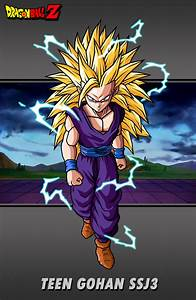 Teen Gohan SSJ3 by hsvhrt on DeviantArt