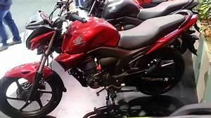 Honda Invicta 150 2015 Roja Colombia Walkaround