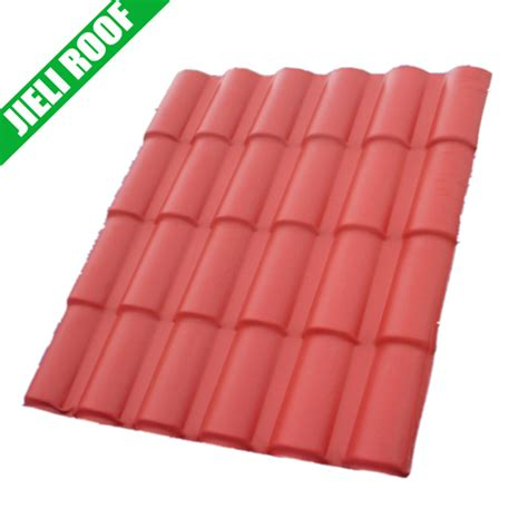 pvc heat resistant corrugated plastic roof tiles for shed