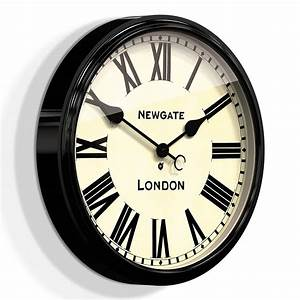 Buy newgate clocks the battersby wall clock large amara for Newgate battersby wall clock