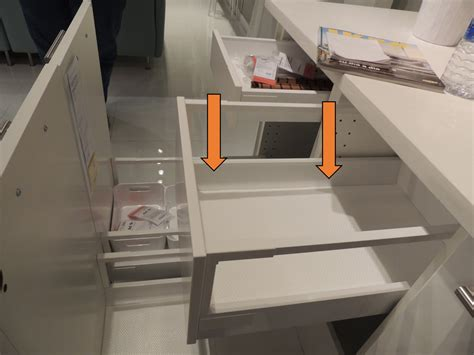 ikea kitchen drawers the difference between ikea s two different kitchen drawer