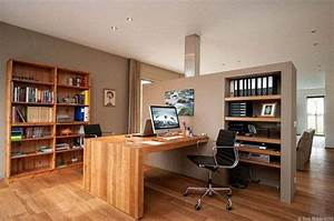 20 space saving office designs with functional work zones With home office designs for two