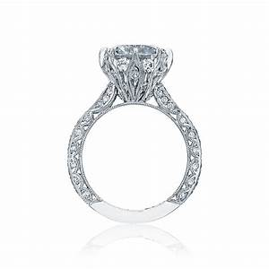 Tacori royalt engagement ring ht2604rd10 for Wedding rings tacori
