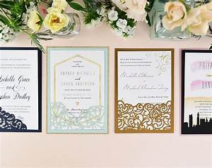 how to diy laser wedding invitations with slide in cards With wedding cards pictures slideshow