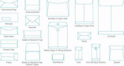 Envelope Sizes Paper Business Envelopes Stationery Printing