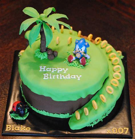 sonic  hedgehog cakecentralcom