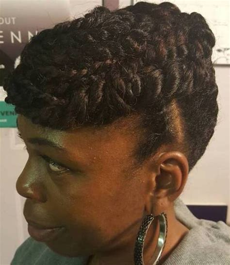 Silky Twists Hairstyles by 20 Flat Twist Hairstyles For This Year