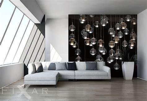 Bezaubernde Kleine Lampen  Fototapete Fürs Wohnzimmer