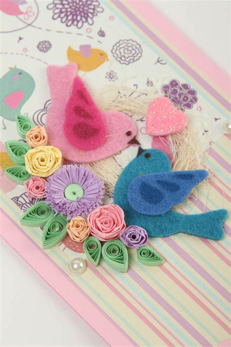 If you only have a limited time then you can choose a simple one. Cute handmade greeting card birthday greeting cards scrapbook card design 456593590 - BUY ...