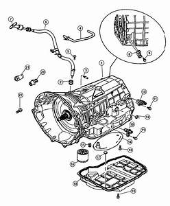 Filter Transmission Filter Genuine Mopar 5013470ac